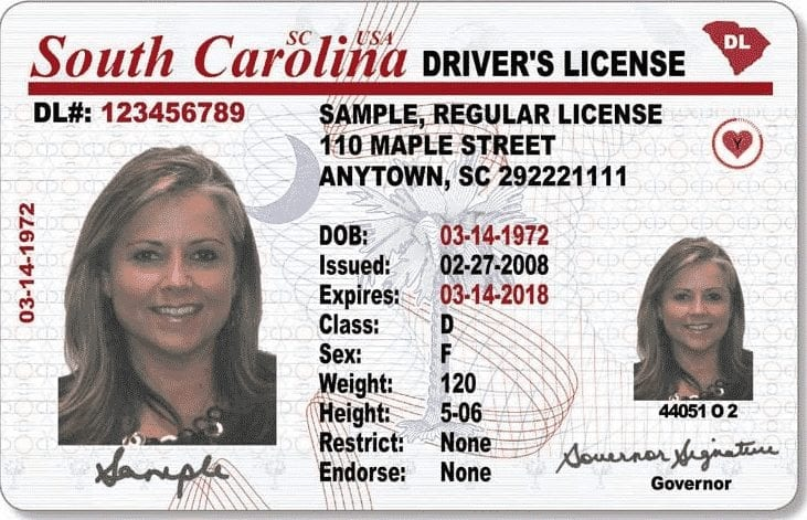 TARL Temporary Alcohol Restricted License South Carolina