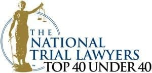 National Trial Lawyers Top40 Under 40 Mason West Law Firm