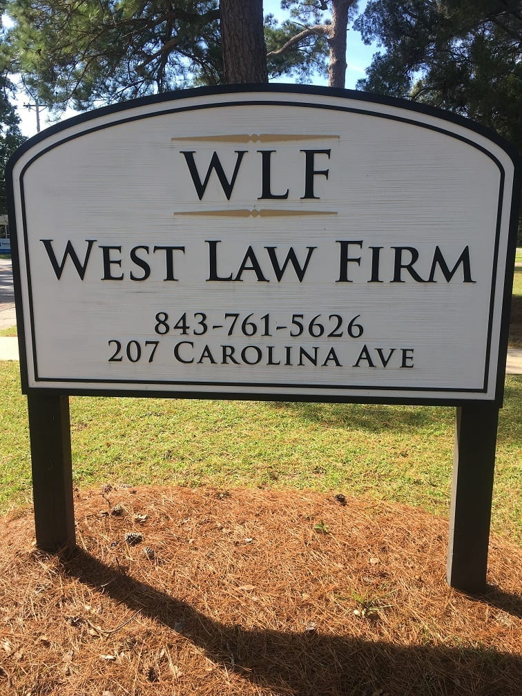 new west law firm sc sign